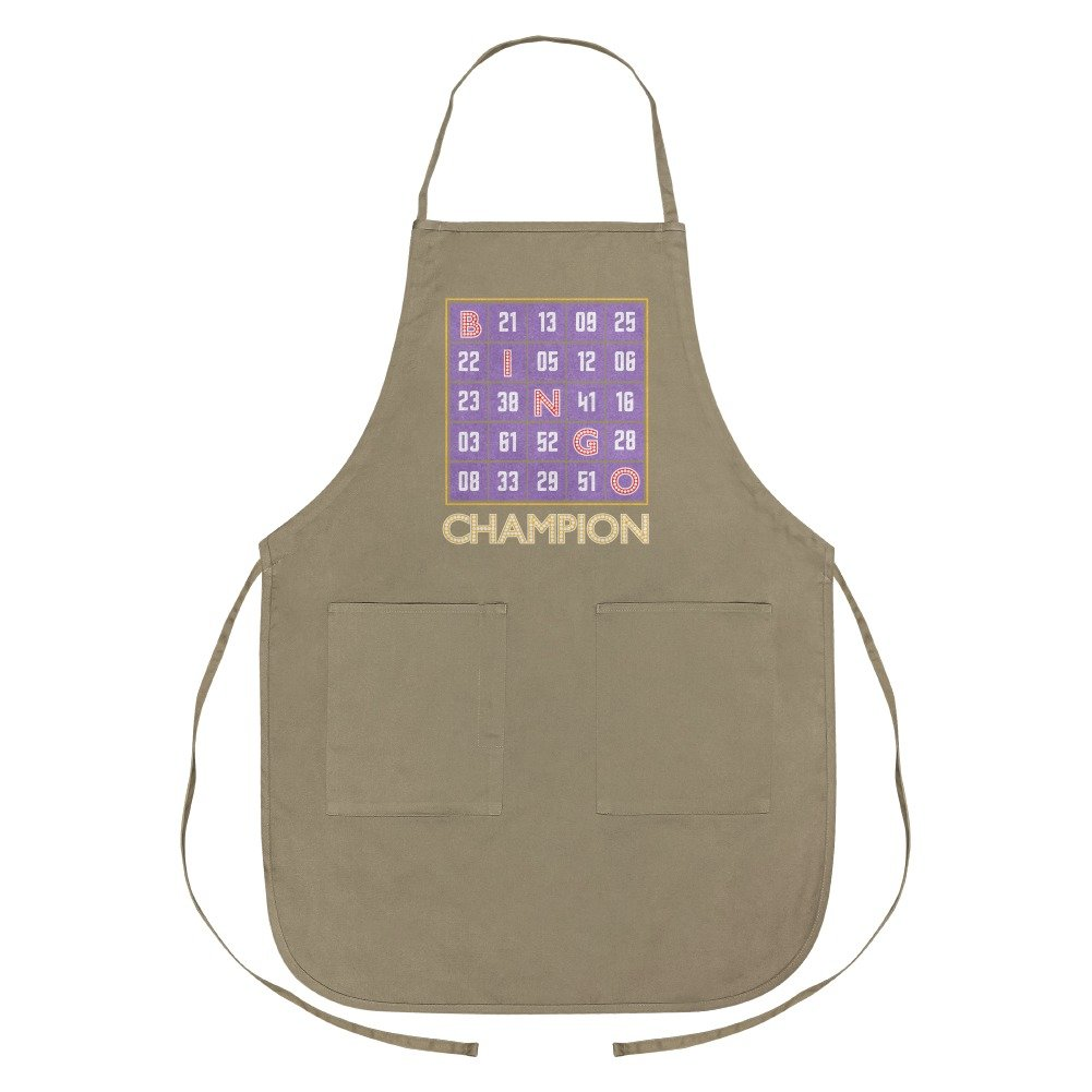 Graphics and More Bingo Champion Apron with Pockets by Graphics and More