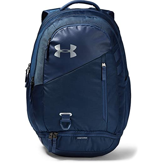 size 40 7f9cc 4dff3 Under Armour unisex-adult Hustle 4.0 Backpack, Academy (408) Silver,
