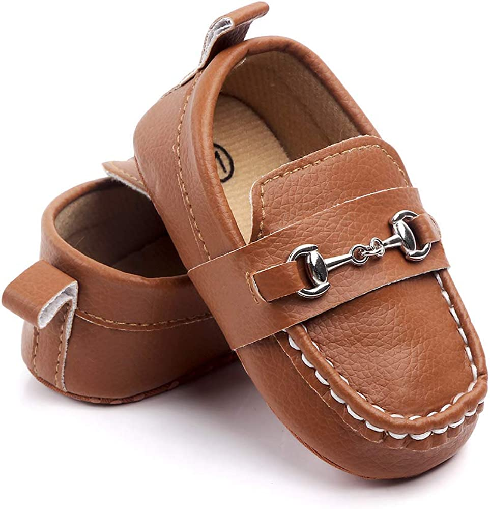 Greeen Baby Nubuck Vamp Soft Sole Toddler Loafers Boat Shoes Crib Shoes