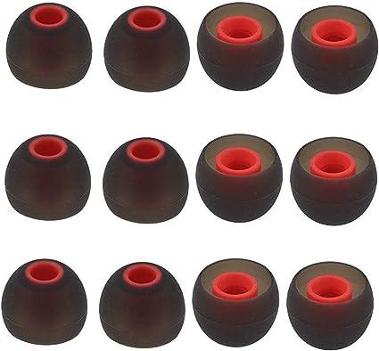10 Pares de Almohadillas de Recambio de Triple Brida para Auriculares