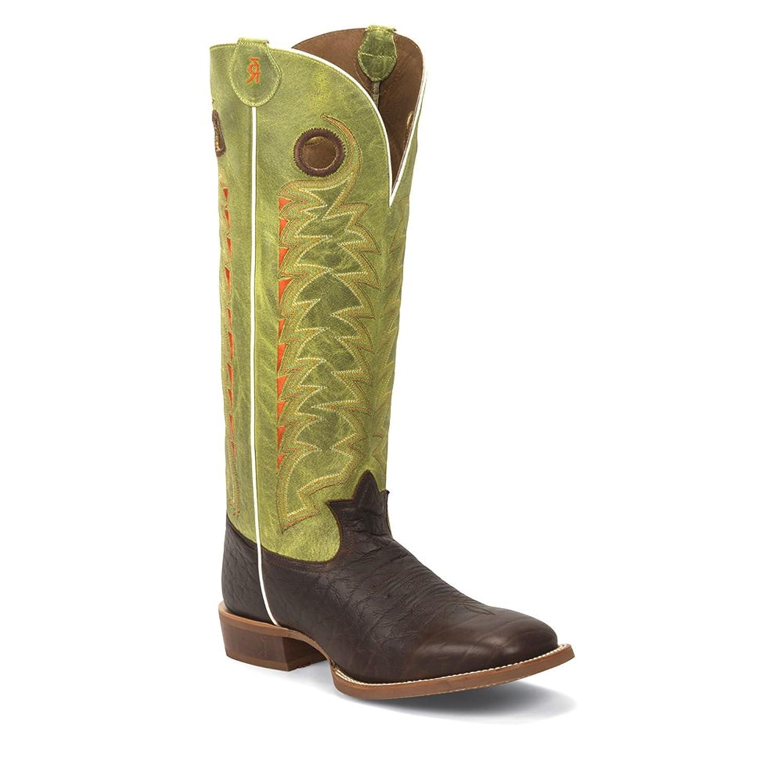9f2c076b15f Amazon.com | Tony Lama Men's Verde Choco Jasper 3R Buckaroo Cowboy ...