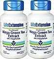 Life Extension Mega Green Tea Extract 98 Polyphenols, 100 veg caps -Decaf