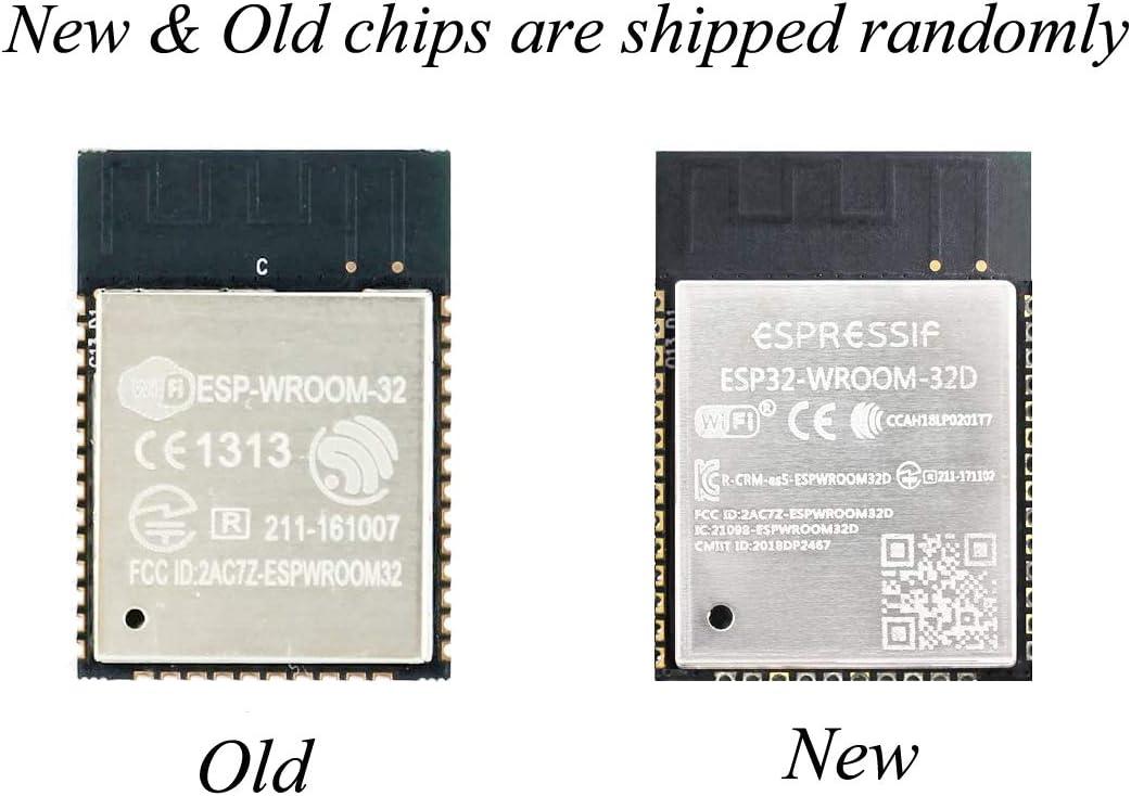 Espressiv ESP-WROOM-32 ESP32S Wifi Dual Core Modul kompatibel zu Arduino