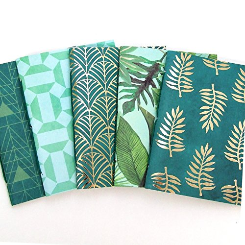 Tropical Travelers Notebook Insert Set - Lined, Dot Grid, Blank, Music, Graph or Checklist Pages by StinsonPaperCompany