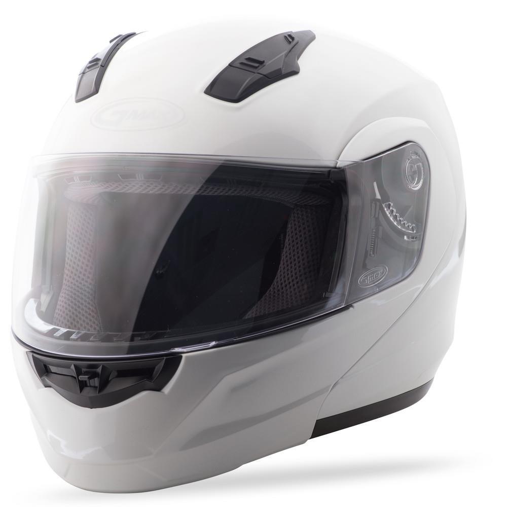 Pearl White X-Large G104087 GMAX MD04 Modular Mens Street Motorcycle Helmet