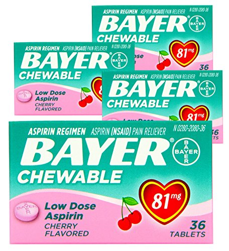 4-pack-bayer-chewable-low-dose-aspirin-cherry-value-pack-36-count-chewable-tablets