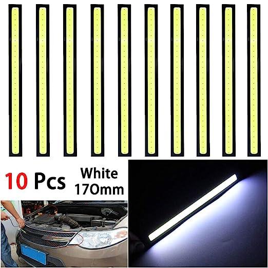 omufipw DRL COB Tiras de Luces LED, 10 Unidades, Resistente al ...