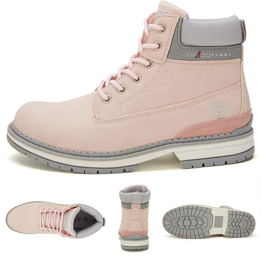 Botines Planos de Spring para Mujer - AnjouFemme Zapatos con ...