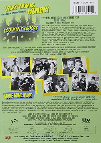 Terry Thomas Double Feature: Too Many Crooks & Make Mine Mink