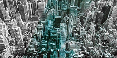 Artland Qualitätsbilder I Bild auf Leinwand LeinwandbilderLuciano LeinwandbilderLuciano LeinwandbilderLuciano Mortula Luftbild von Manhattan, New York City. USA. - mit Petrol Städte Amerika Newyork Fotografie Blau A7QK B07D68QDTK | Langfristiger Ruf  bf516b