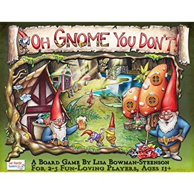 Oh Gnome You Don't Board Game: Toys & Games