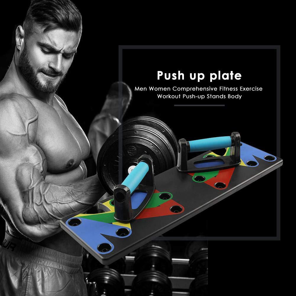 Push Up Gym En 9 System Junerain Train 1 Workout Fitness Rack f6v7byYg