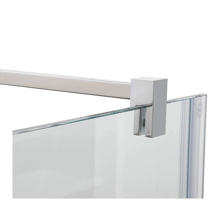 Stabilisierungsstange für Duschen, Glas-Wand eckig, Stabilisationsstange Duschwand, Chrom