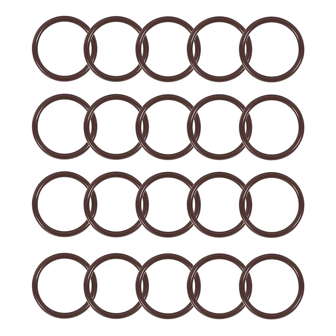 Black with a smooth finish 1//8 Thick Sterling Seal CRG7000I.1600.125.300X20 7000I Grafoil Ring Gasket Pack of 20 Pressure Class 300# 16 ID 16 Pipe Size