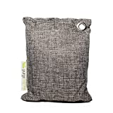 Purge Bag - Activated Bamboo Charcoal Air Purifying Bags, All Natural, Chemical and Frangrance Free - Odor Eliminator Dehumidifier Purifier Absorbs Moisture for Home, Kitchen, Closet, Car