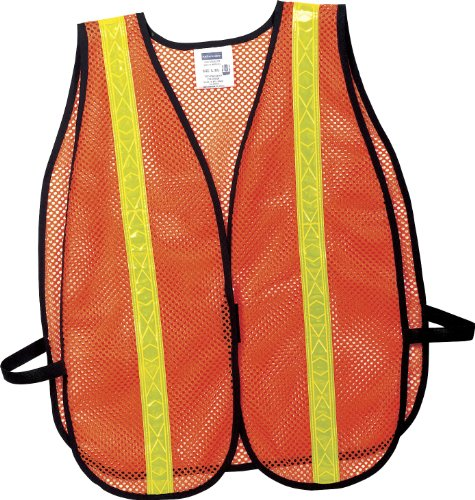 Port Authority Mesh Vest - Port Authority - Mesh Safety Vest. SV02 - 2/3XL - Safety Orange