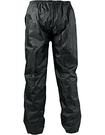 1d7e5e6b242 A-pro Pantalon 100% Impermeable Motard Moto Unisex Protection Pluie noir M
