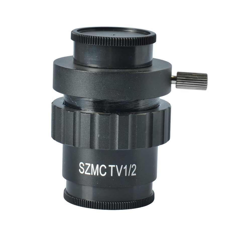 SZM 1/2 CTV CCD Mounting Adapter for Stereo Microscope Camera by hayear