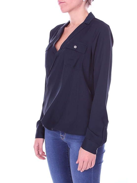 MICHAEL Michael Kors MH54KPHVY0 Camisa Mujer XL: Amazon.es: Ropa y accesorios
