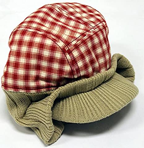 Globe Zapatillas trilogía Visor Beanie Rojo/marrón Sombrero Gorra ...