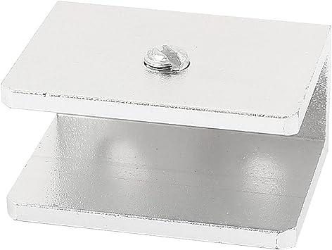 Ajustable sin Marco para mampara de ducha de soporte de pared para 10-12 millimeter cristal: Amazon.es: Bricolaje y herramientas