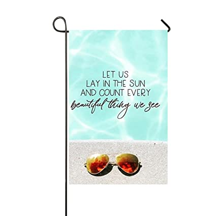 Amazon Hodmadod Quotes About Summer Garden Flag Standard Size