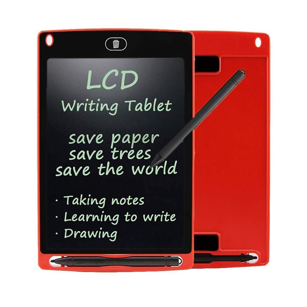 LCD Writing Tablet, Wristel 8.5 Inch Magnetic Digital Graphic Drawing Tablet Portable Electronic Writing Tablet Doodle Board for Childrens Kids Students Adults at School, Home & Office