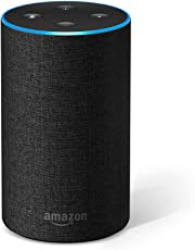 Amazon Echo (2.ª generación) - Altavoz inteligente con Alexa, tela de color antracita