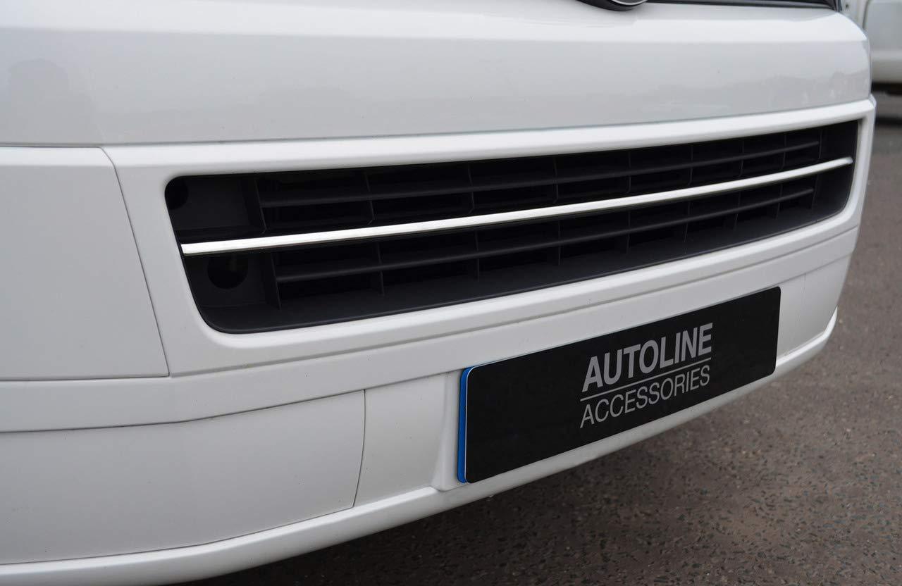 Chrome Grille de pare-chocs Accent Trim Housse pour sadapter au T5/Transporter 10/–15