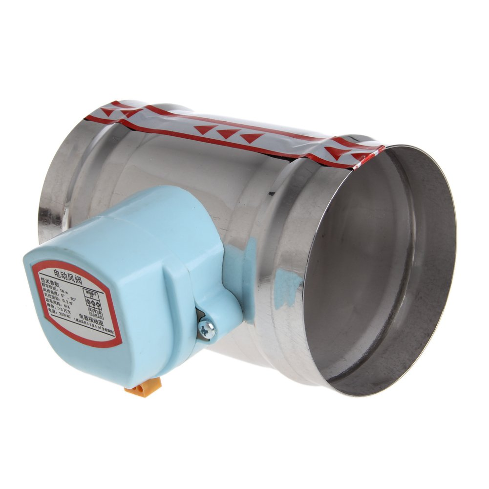 Manyo 1/pezzi in acciaio inox Valvola per Aria e Acqua/ 220/V. /elettrico Elettrovalvola Ammortizzatore