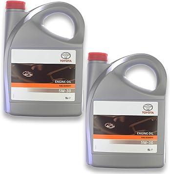Toyota 5 W 30 Fuel Economy A5 B5 5 Liter 5 W30 Engine Oil Auto