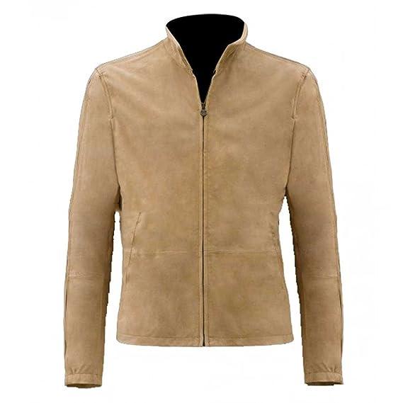 73baf3494ff31 Fashion First James Bond Spectre Morocco Blouson Brown Suede Jacket   Amazon.co.uk  Clothing