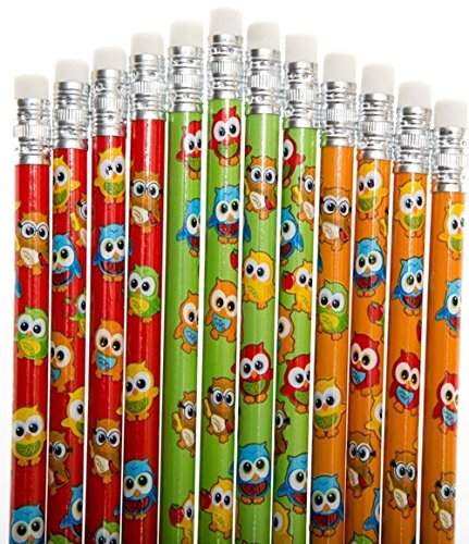 owl party Owl Pencils - Class Pack of 48