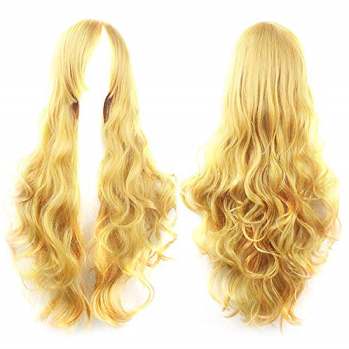 Lace Long Wigs,Cosplay Costume Wigs Women Long Curl Wavy Red Halloween Party Anime Hair,Hair Replacement Wigs,Novelty & More