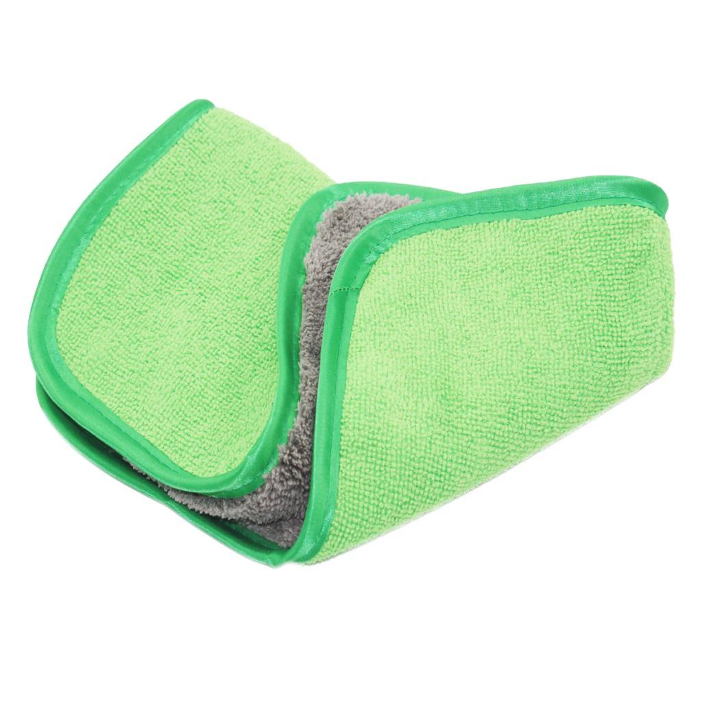 MagiDeal Microfibra de Lavado de Coches Toalla de Limpieza de Coche Paño de Secado Dobladillar Verde: Amazon.es: Coche y moto