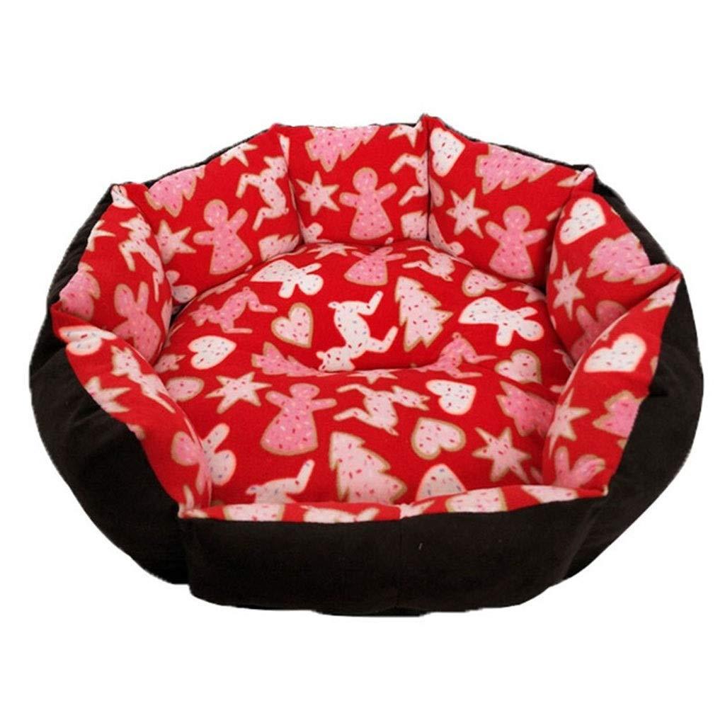 4  45cm45cm 4  45cm45cm DSADDSD Pet Bed Cat Nest Doghouse Four Seasons Available Small And Medium Dog Pet Nest Pet Supplies (color   4 , Size   45cm45cm)