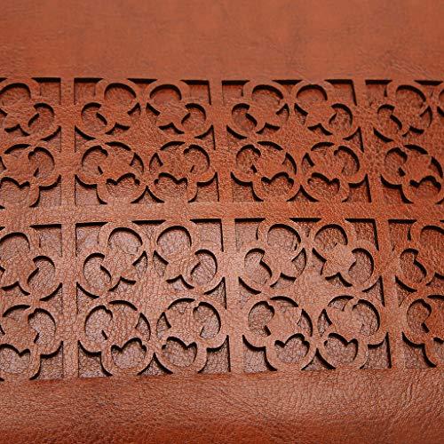 Main Vintage Soirée Sac Creux Top À Purse Pu La En Capacité Brown01 Crossbody handle Bandoulière Féminine Grande Cuir Mode apw6aFZxn