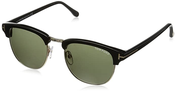 Amazon.com: Tom Ford – Gafas de sol, Color Henry/marco ...