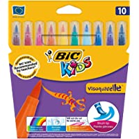 Bic Visa 10'lu Fırça Uçlu Keçeli Boya Kalemi
