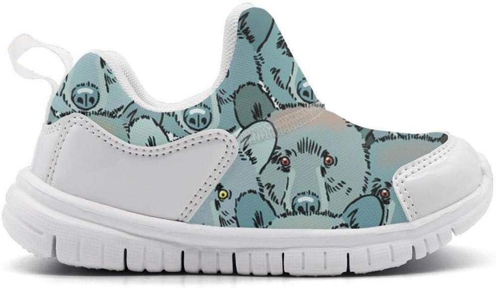 ONEYUAN Children Bears Bear Head Repeat Kid Casual Lightweight Sport Shoes Sneakers Walking Athletic Shoes
