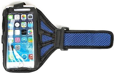 HSL Sports correr o gimnasia banda de brazo con tapa y tarjetero para llaves, estructura de red, para iphone 6/Samsung Galaxy S6/edge-Blue: Amazon.es: Electrónica