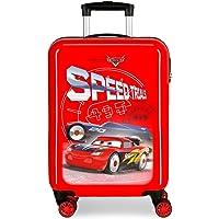 Disney Cars Speed Trails Maleta de Cabina Rojo 38x55x20 cms Rígida ABS Cierre combinación 34L 2,6Kgs 4 Ruedas Dobles…