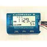 "Jrelecs® 2.1"" Screen RC Cell Meter-8 Digital Battery Capacity Checker For LiPo/LiFe/Li-ion/NiCd/NiMH"