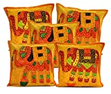 5Pcs-100Pcs Amazing India Patchwork Orange Applique Home Decor Cushion Covers Wholesale Lot