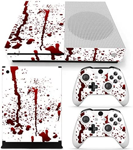 XBOX ONE S Skin Design Foils Pegatina Set - Blood Motivo: Amazon ...