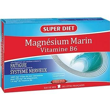 Superdiet Magnesio Mar B6 20ab