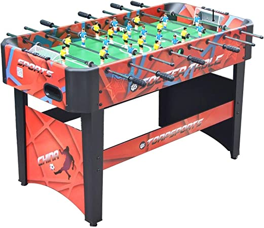 Futbolines Recuerdos De Juguete De Mesa Fútbol Máquina De Escritorio Boy Adult Entertainment Doble De Madera For Niños (Color : Red, Size : 120 * 60 * 80cm): Amazon.es: Hogar