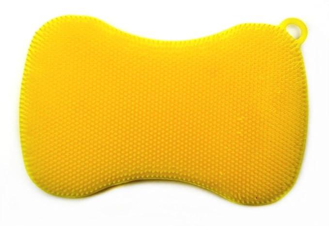 2 opinioni per Bunte- Spugna di silicone, colore giallo