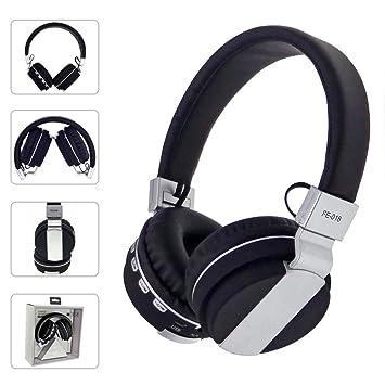 Amazon.com: AutumnFall FE-018 Stereo Audio Blutooth 4.0 Earphone Auriculares Bluetooth Headset Wireless Headphones For IPhone iPod iPad PC (Black): Beauty