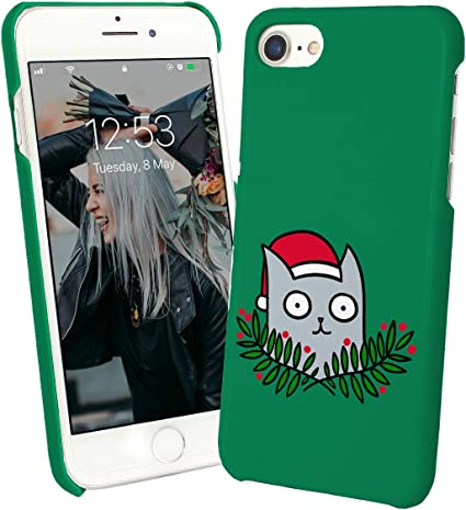 Cat Christmas Kitty Santa Claus_010168 Protective Phone Mobile ...